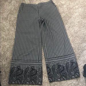 New York & Company Palazzo style pants Large